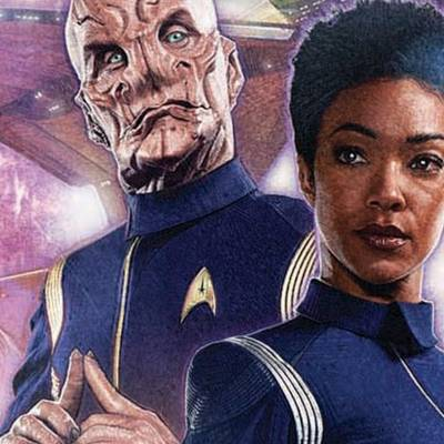 Star Trek: Discovery: Captain Saru one-shot from IDW