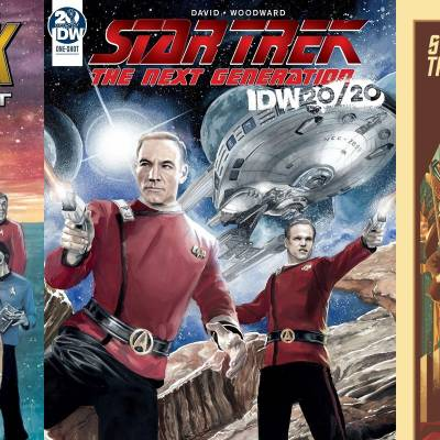 Two new Star Trek comics arrive today from IDW
