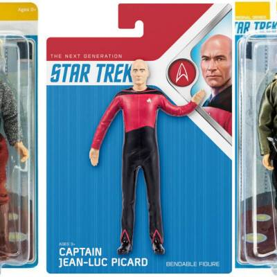 New Mego wave and Star Trek goes Bendable