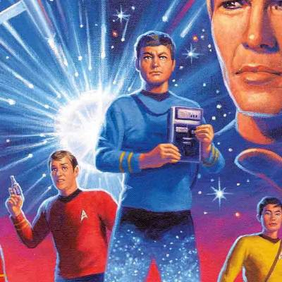 Greg Hildebrandt, 80 years old and producing his first Star Trek art