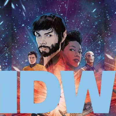 IDW: Star Trek comics for August 2019