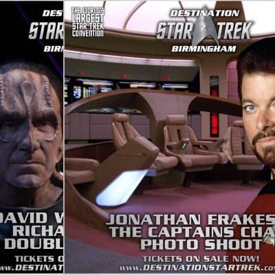 Photoshoots galore announced for Destination Star Trek Birmingham
